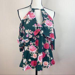 Raisins Curve Floral Swimsuit Top